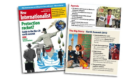 Protection racket? Guide to the Rio+20 earth summit (June 2012)