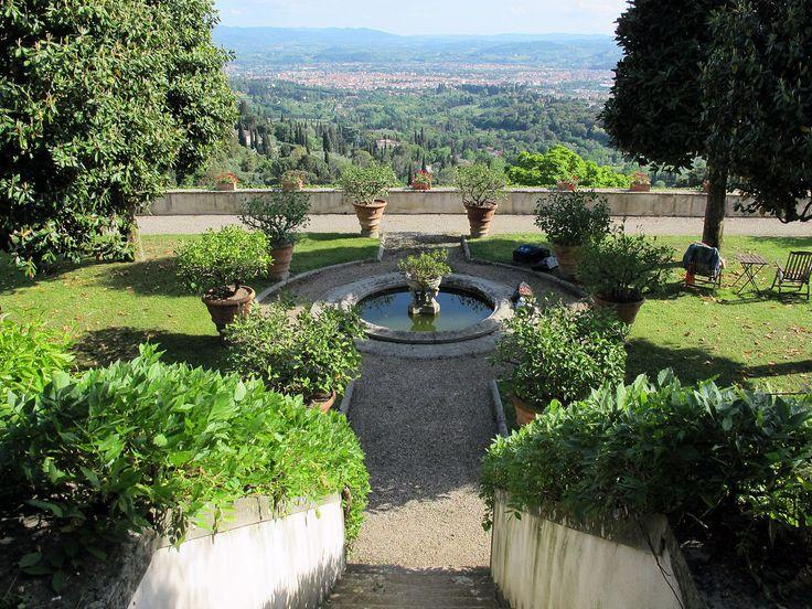 Villa medici di belcanto, terrazza inferiore 04 - Villa Medicea di Fiesole — Wikipédia