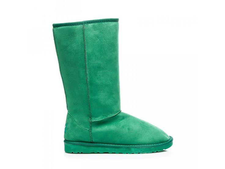 Zelené snehule na zimu