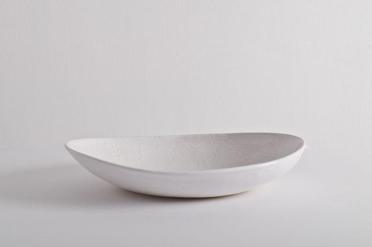 Wonki Ware Medium Etosha Bowl White@JaneMcIntyredesigns