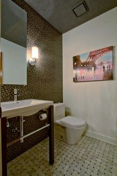 Carmel Powder Bath Renovation - contemporary - Bathroom - Indianapolis - Wrightworks, LLC