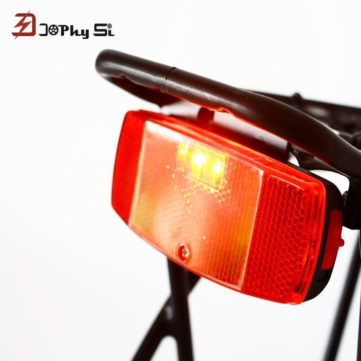JS Leds Red Bicycle Rear Light Bike Rear Rack Light Lamp Battery Cycling Bicycle Accessories MTB Led Bike bisiklet aksesuar