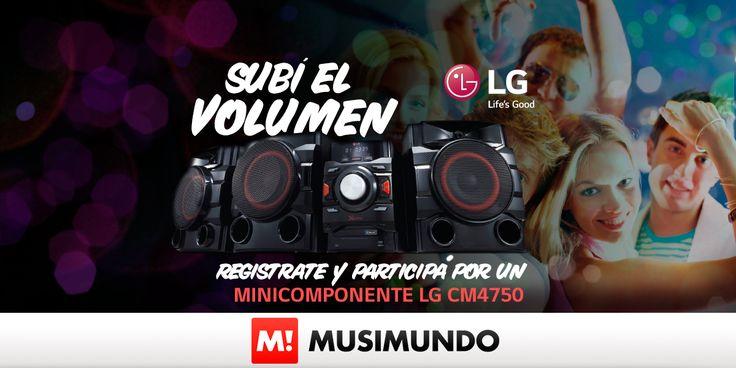 Musimundo.com - GANATE UN EQUIPO DE MÚSICA LG!