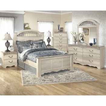 Get Your Catalina 5 Pc. Bedroom   Dresser, Mirror U0026 Queen Poster Bed At  Discount Furniture Connection, Mebane NC Furniture Store.