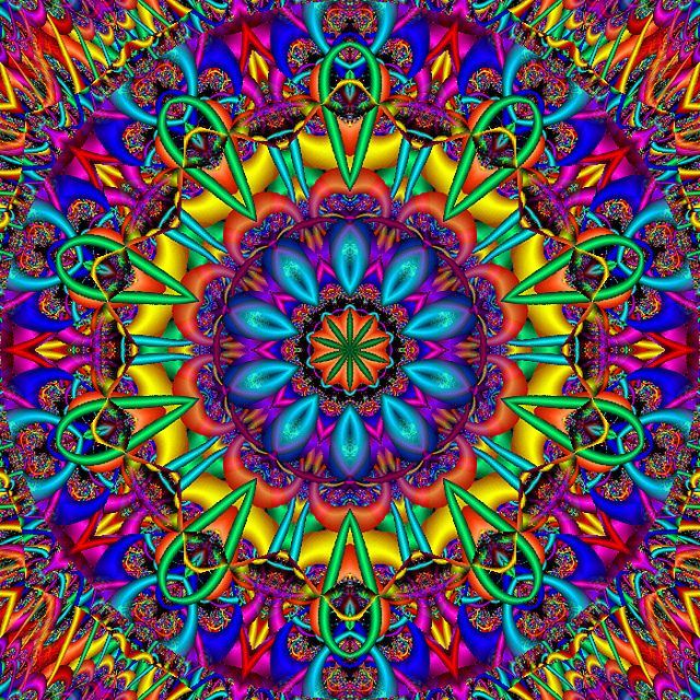 Calamity Kaleidoscope by Ate My Crayons, via Flickr