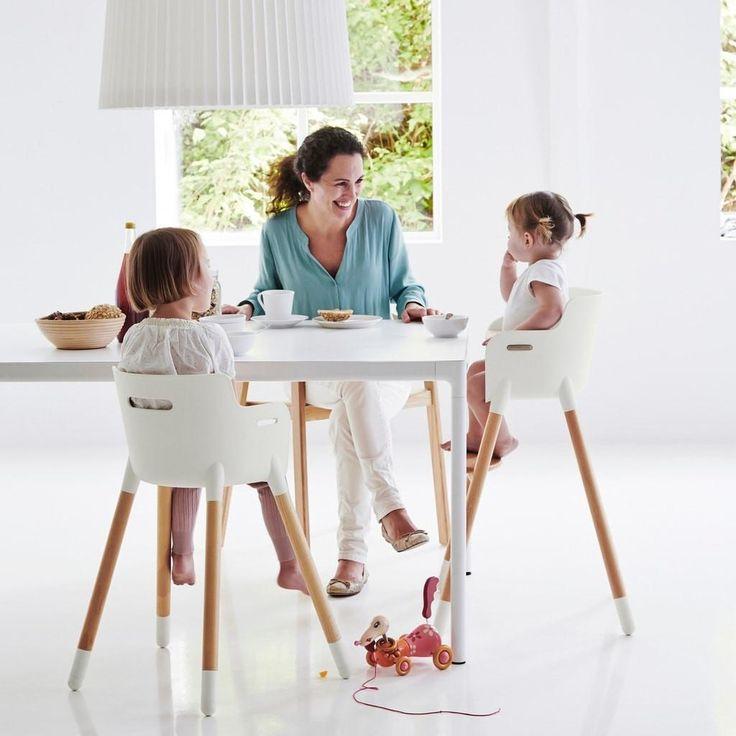 Stuhl ist nicht gleich Stuhl  Der Flexa Kinderhochstuhl ist eine richtiger Verwandlungskünstler: Eine verstellbare Sitzfläche & Fußstützen passen sich jeder Größe an und - abrakadabra- mit wenigen Handgriffen wird aus dem Hochstuhl ein Kinderstuhl!