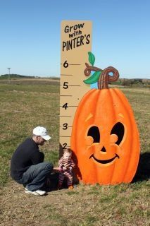 Decorah, IA - Pinter's Gardens Pumpkins. Features a garden center, landscaping services, bakery and a pumpkin patch.