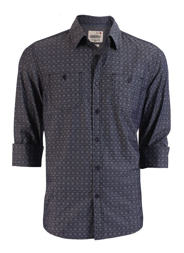 Edgefield Dobby Shirt from Jeanswest