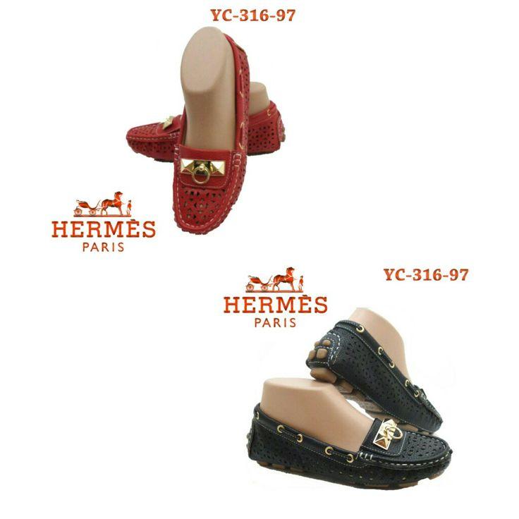 Hermes Sofly YC316-97 Black 35 Red 36 150rb