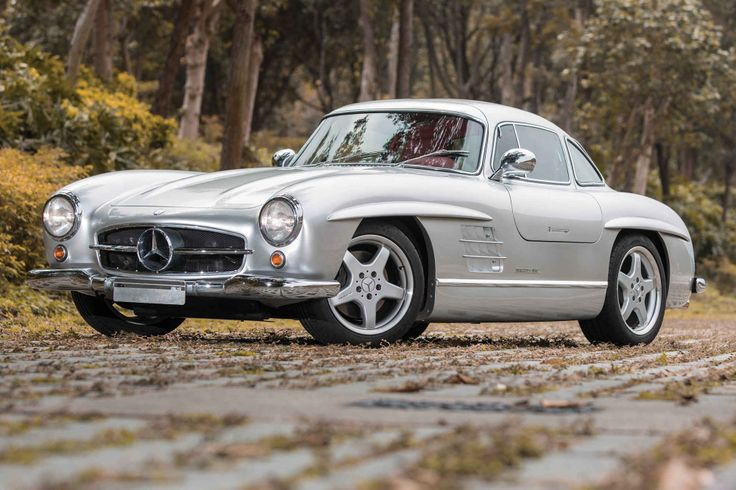 The Sultan of Brunei's AMG Mercedes 300SL Gullwing is the Ultimate Sleeper Hot Rod - Supercompressor.com