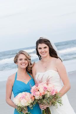 Beach Wedding Bridal Bridesmaid Dresses Wedding