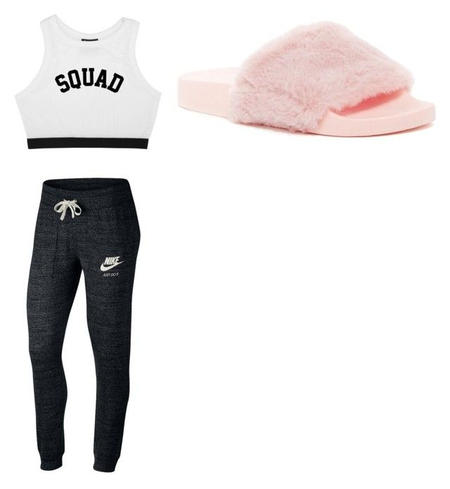 """""""Untitled #17"""" by izzybizzyboo on Polyvore featuring NIKE and Wild Diva"""