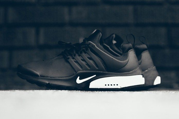 The Nike Air Presto Low Utility Drops in a Classic Black and White Colorway