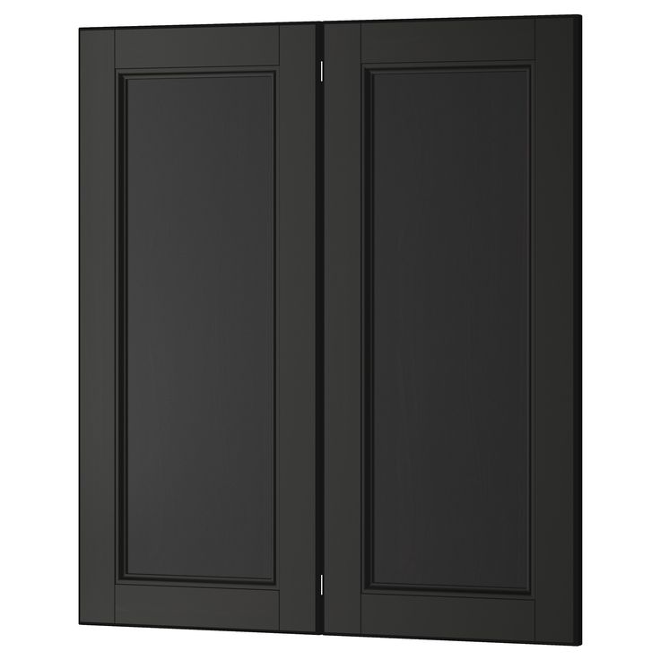 Ikea Kitchen Cupboard Doors: LAXARBY, 2-p Door/corner Base Cabinet Set, , LAXARBY Door Has A Distinct Traditional