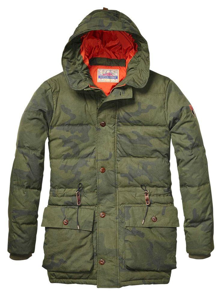 Outdoor Hooded Parka > Mens Clothing > Jackets at Scotch & Soda