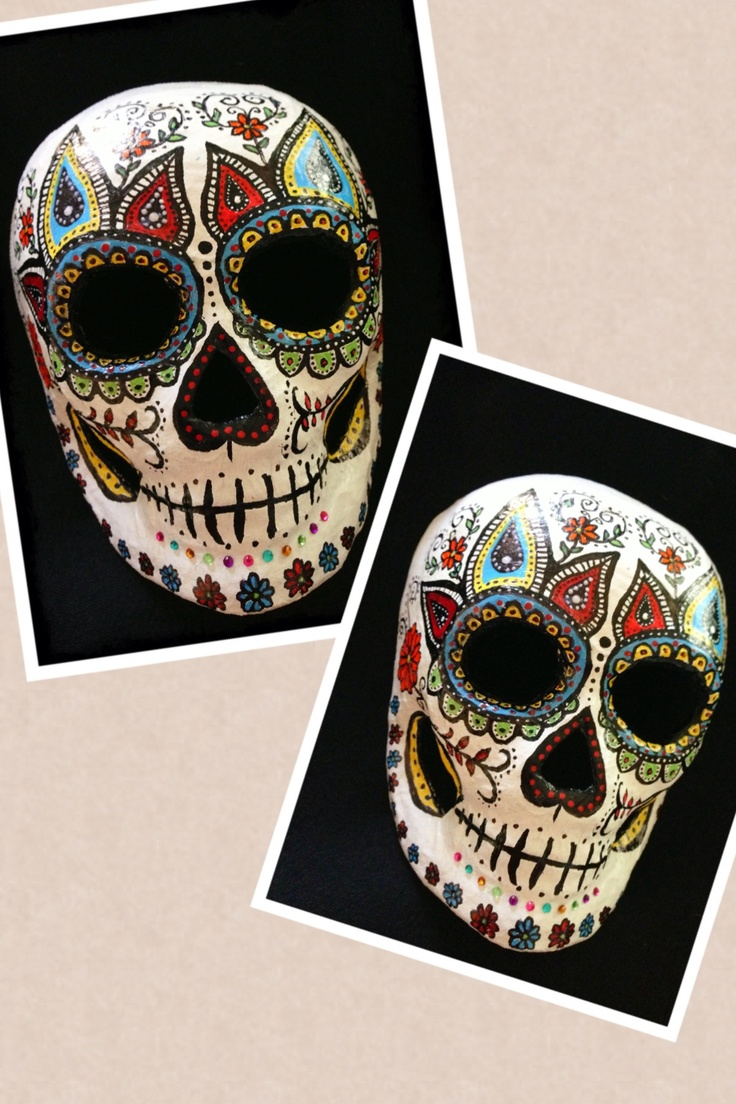 1327 best dia de los muertos images on pinterest sugar skulls day of the dead mask dailygadgetfo Choice Image