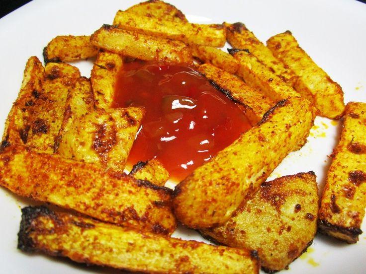 Kohlrabi-Pommes, ein sehr schönes Rezept aus der Kategorie Snacks und kleine Gerichte. Bewertungen: 271. Durchschnitt: Ø 4,2.