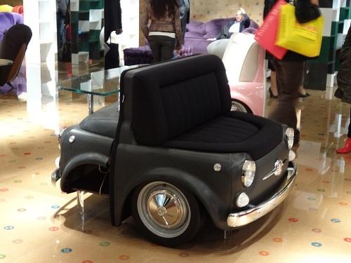 2012年 ミラノ・サローネ メリタリア 車のミニが家具に!