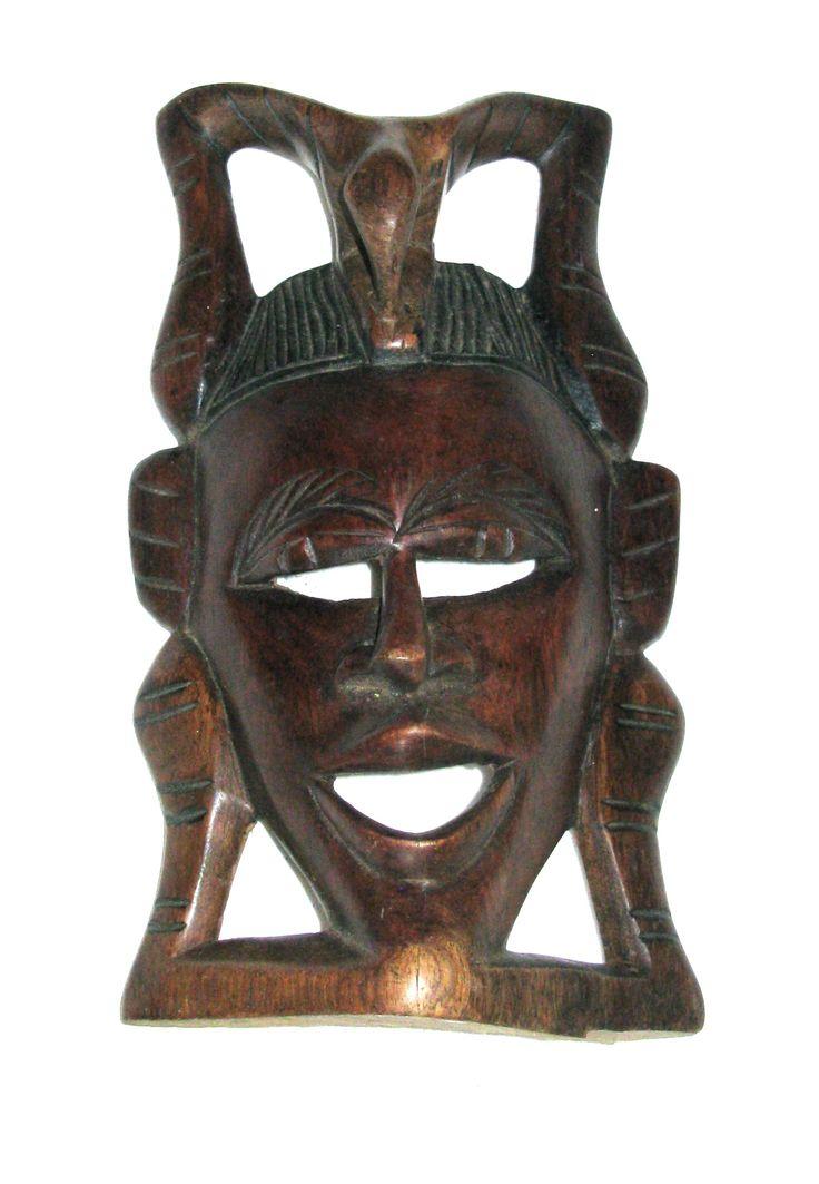 African traditional elephant mask, Senegal