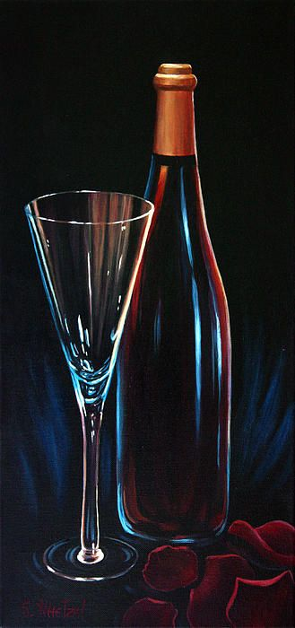 30 best images about Wine Art by Wine Artist Sandi Whetzel ...
