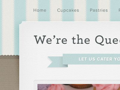 Website template.  Love the textures.
