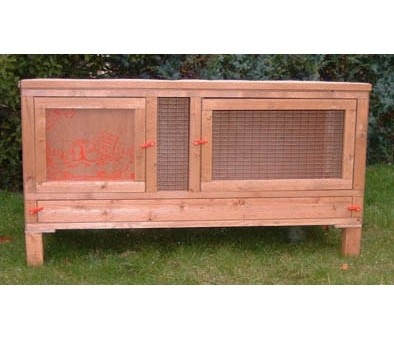 Rabbit hutch designs nz woodworking projects plans for Wood hutch plans