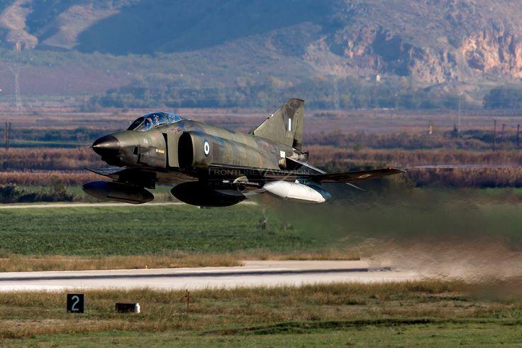 https://flic.kr/p/Ta6WEv   'Low Level', RF-4E Phantom II, 7496, Hellenic Air Force   348MTA (TRS), 110CW, Larissa AFB, Thessaly, Greece
