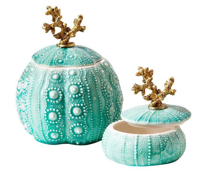 Aufbewahrungsdosen-Set Sea Urchin, 2-tlg.