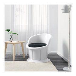 Superb IKEA POPPTORP Polstersessel wei schwarz Aufbewahrung unter dem Sitz Leicht sauber zu halten den Bezug mit einem feuchten Tuch abwischen