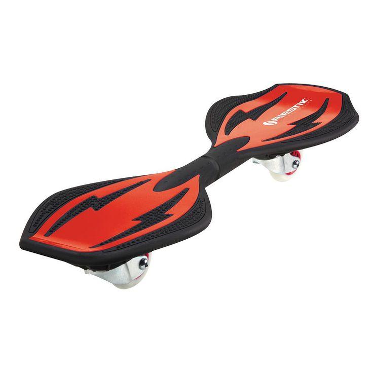 Razor RipStik Ripster Caster Board, Red