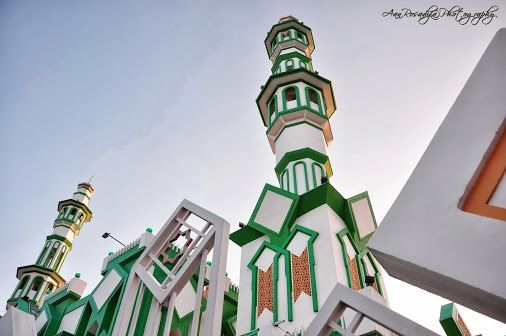 Masjid Raya Singkawang - Singkawang City, West Kalimantan, Indonesia