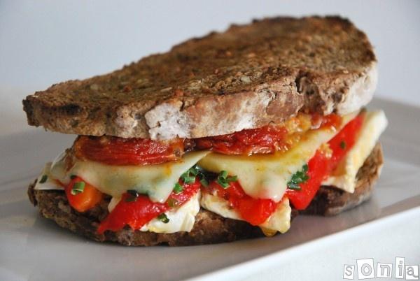 sandwich gourmet de queso