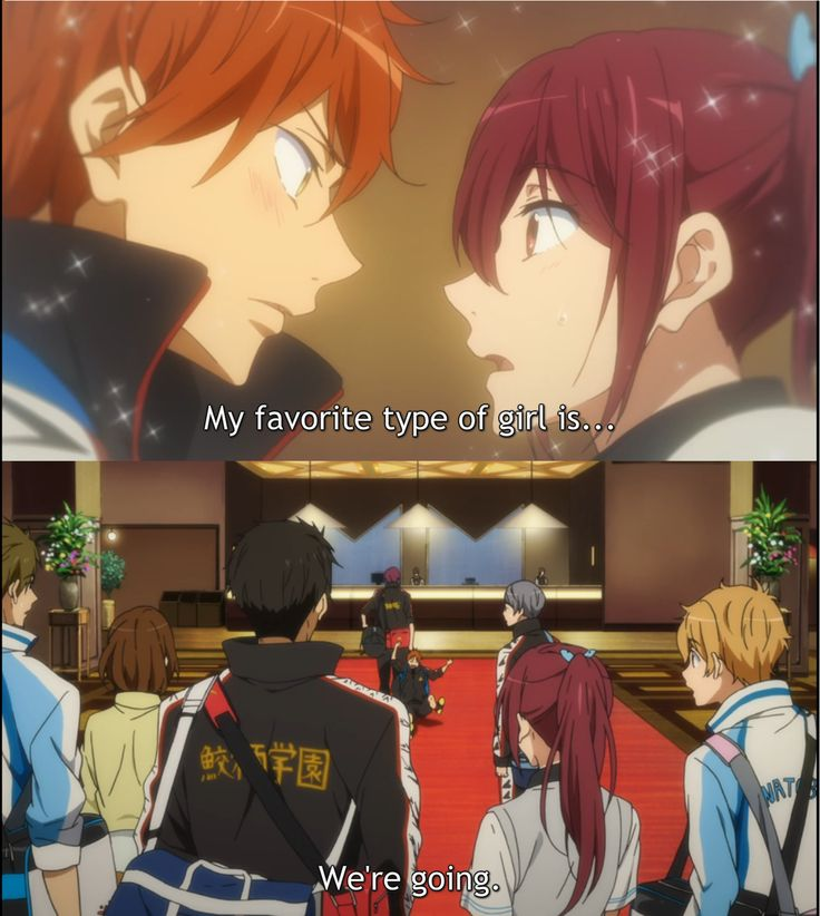 I LOVE HOW RIN ALWAYS PROTECTS GOU FROM MOMO'S FLIRTING I LOVE THAT