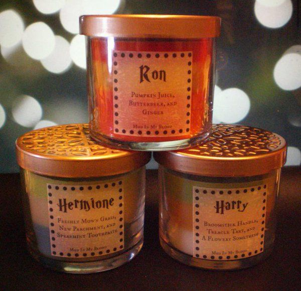 Harry Potter scented candles ❤