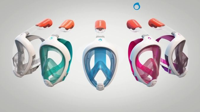 EasyBreath Snorkeling Mask Or How To Breathe Underwater As Easily As You Do On Land   http://coolpile.com/gear-magazine/easybreath-snorkeling-mask-breathe-underwater-easily-land/ via coolpile.com by @Tribord France France