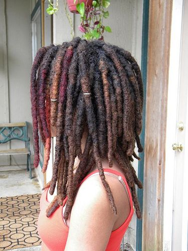 Beautiful Locs! Love the thickness.