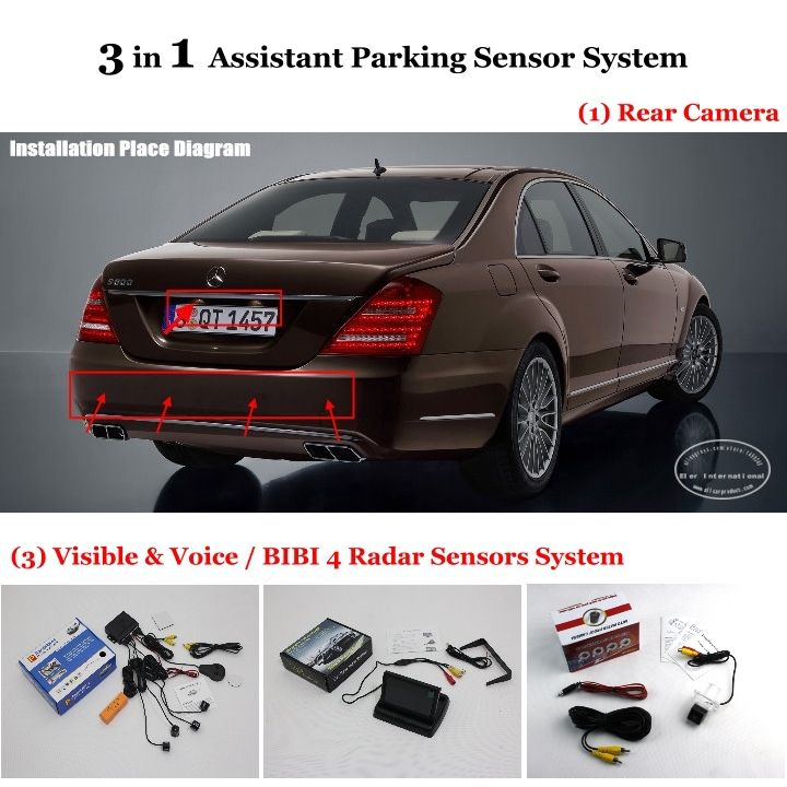 This item is now available in our shop.   Car Parking Sensors + Rear View Camera + LCD Screen = 3 in 1 Visual Alarm Parking System For Mercedes Benz S W221 / SL W231 R231 - US $97.49 http://cameraphotoshop.com/products/car-parking-sensors-rear-view-camera-lcd-screen-3-in-1-visual-alarm-parking-system-for-mercedes-benz-s-w221-sl-w231-r231/