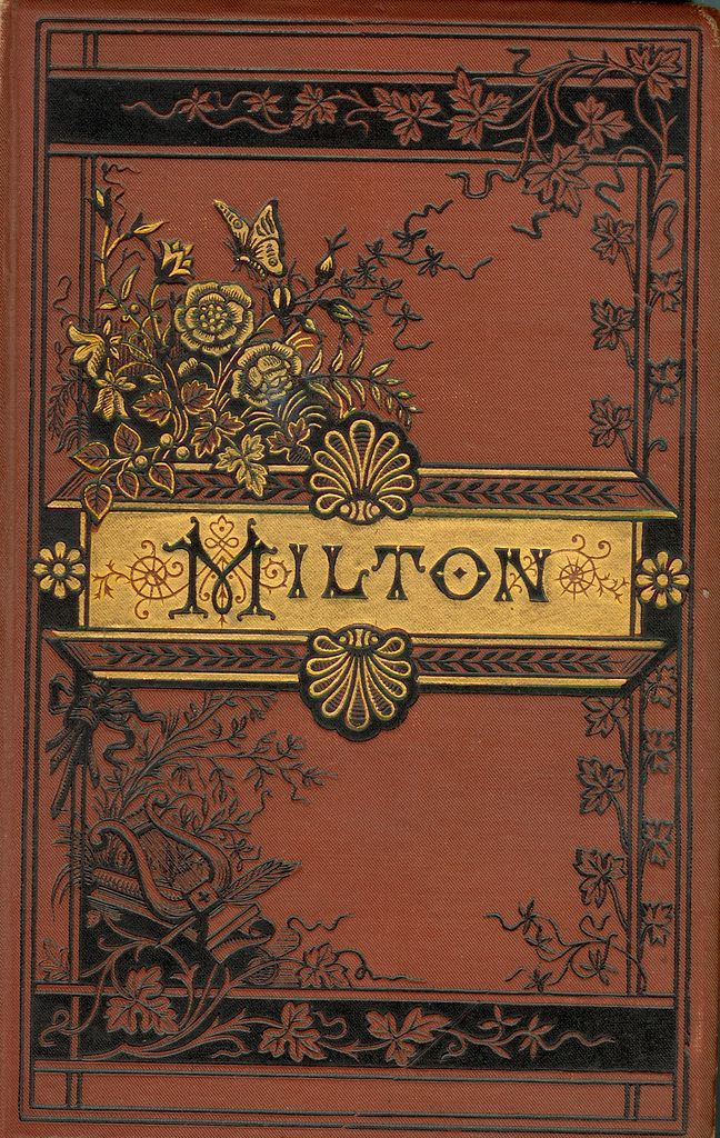 Cover of The Poetical Works of Milton | by Digital Sextant 1880
