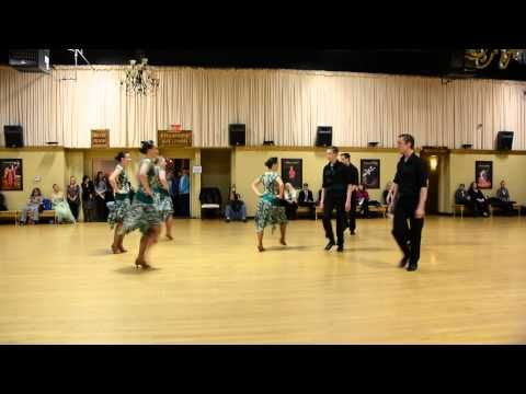 Strides Ballroom Dance Team Competition - YouTube