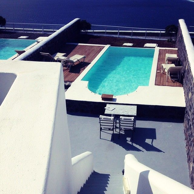 View of the pool... #ThermesVillas