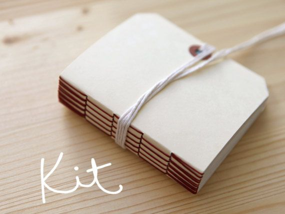 Best 20 book making images on pinterest book binding bookbinding long stitch book binding kit and tutorial by erinzam solutioingenieria Choice Image