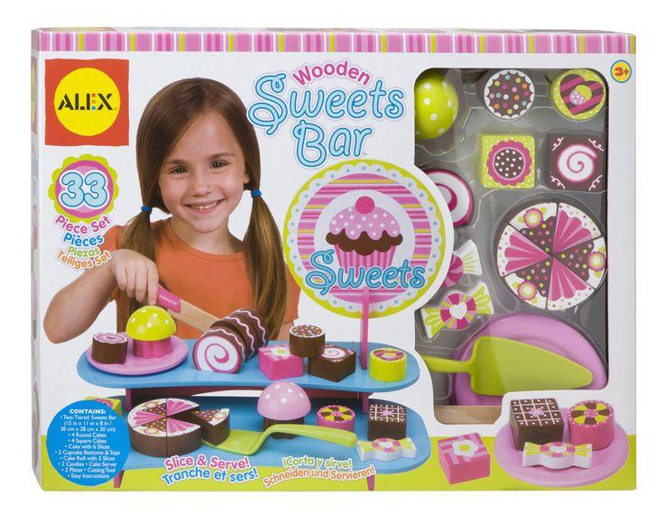Wooden Sweets Bar - ALEX Toys | ALEX Toys