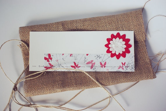 I Love You Gift Card by MascandFemme on Etsy, $4.00