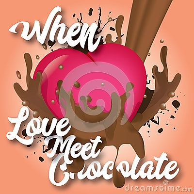 When love meets chocolate