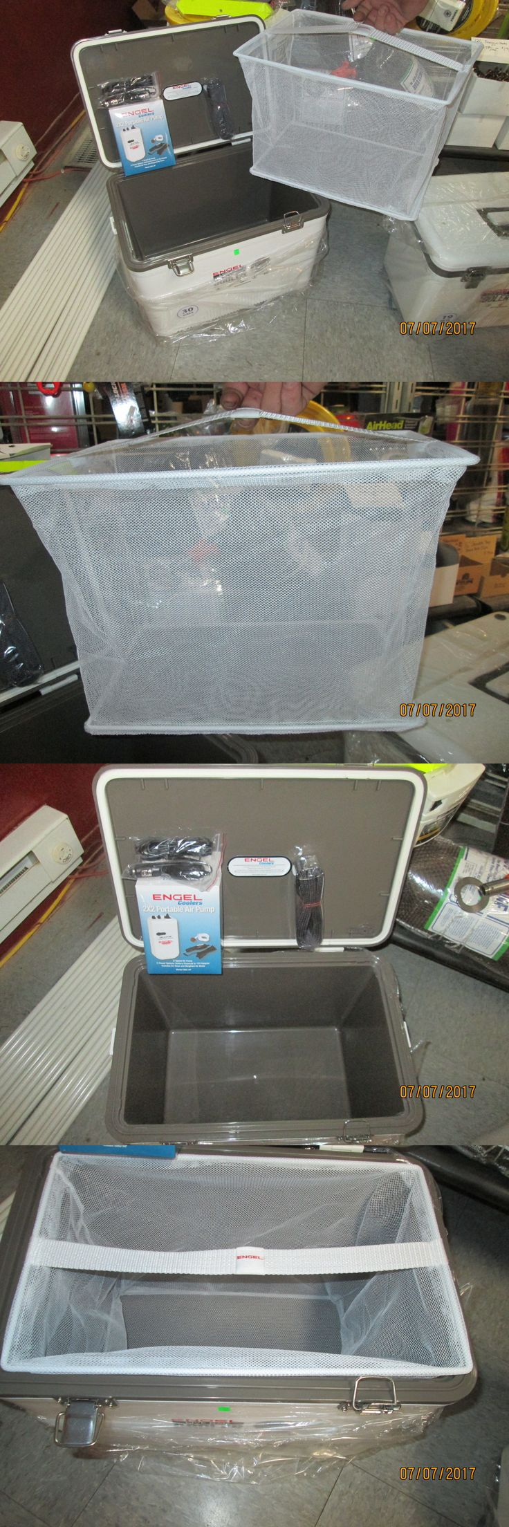 Bait Buckets 179986: Newest Model New 30 Qt Engel Live Bait Cooler W Full Size Net Aerator Englbc30n -> BUY IT NOW ONLY: $85 on eBay!