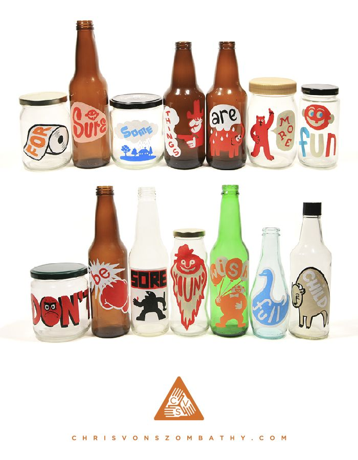 Poptimism Sets 9 & 10 (acrylic on glass or plastic) by artist Chris von Szombathy.