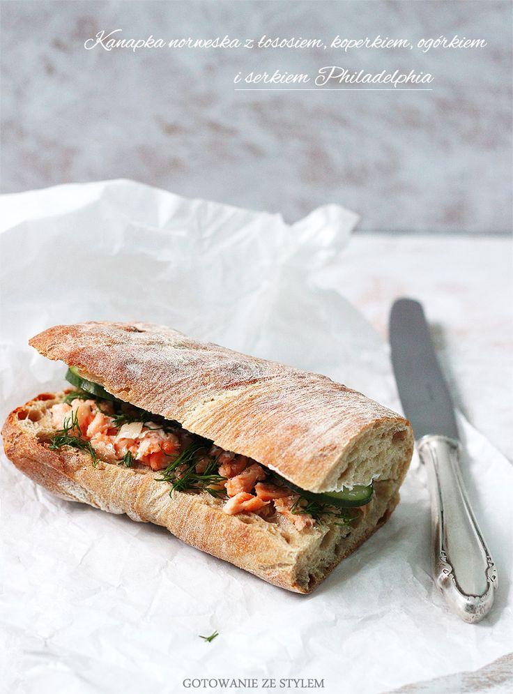 Norwegian sandwich | gotowanie ze stylem
