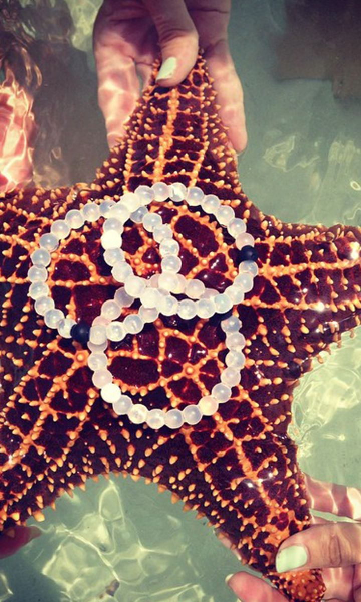 Livelokai bracelet. Injected in the black bead is mud from the Dead Sea and injected in the white bead is water from Mt Everest. The highest and lowest points on Earth, so whether you're on top of the world or down on your luck, Lokai reminds you to stay humble, hopeful, and to always move forward. I WANT!
