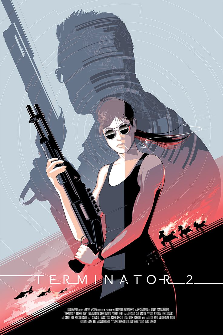 Cool Art: Terminator 2 by Craig Drake | Live for Films