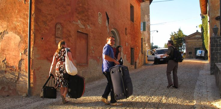{tag_name_nolink} Arriving @montestigliano for Singing in Siena with Tony Backhouse